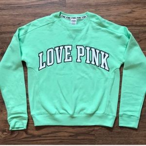 VS  PINK Sweatshirt Green